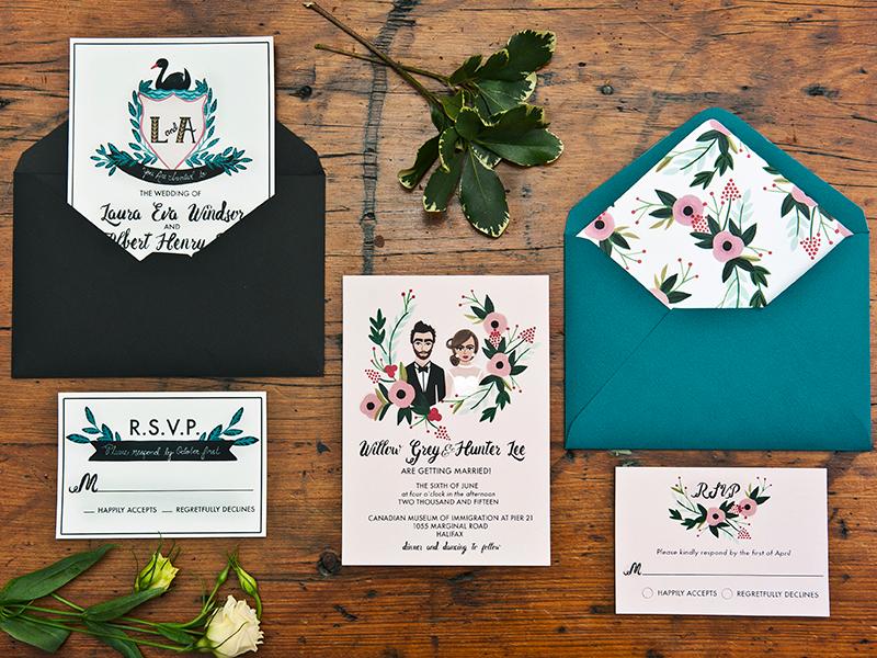 Invitations | Halifax Weddings
